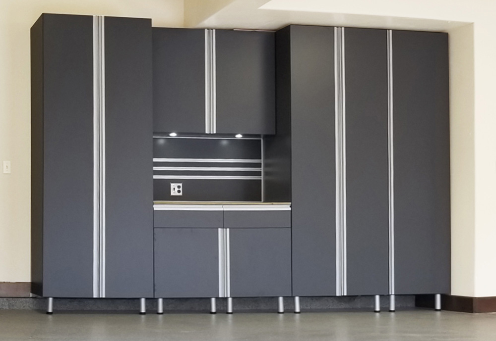 garage-residential-grey-cabinets
